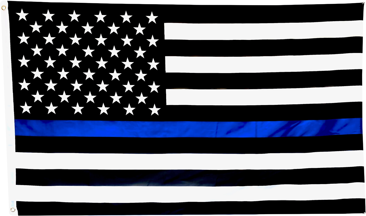 Thin Blue Line American Flag - I Love My Freedom