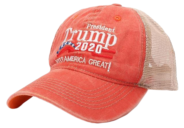 Vintage Mesh Trump 2020 Hat - I Love My Freedom