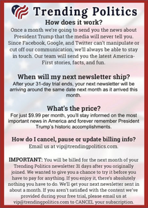 Trending Politics Subscription FAQ Letter - I Love My Freedom