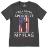Standing For My Flag T-Shirt