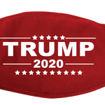 Red Trump 2020 Face Cover - I Love My Freedom