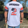 Team America 2nd Amendment Baseball Jersey