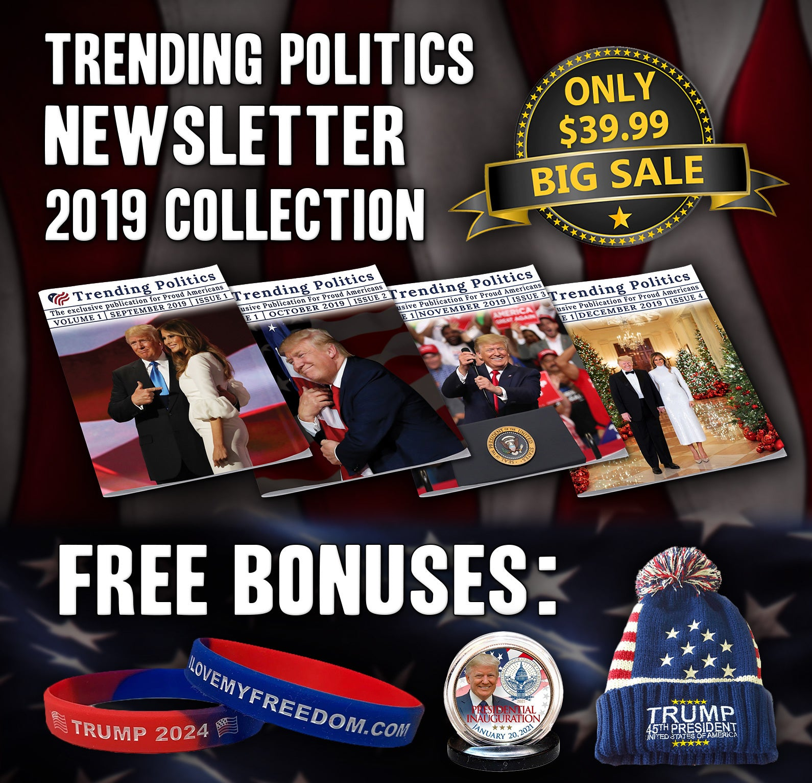 Trending Politics Newsletter 2019 Collection