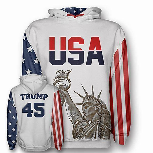 Trump #45 Hoodie - I Love My Freedom