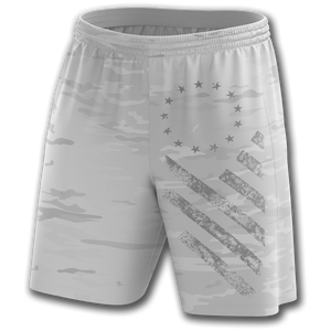 Arctic Camo Athletic Shorts - Greater Half