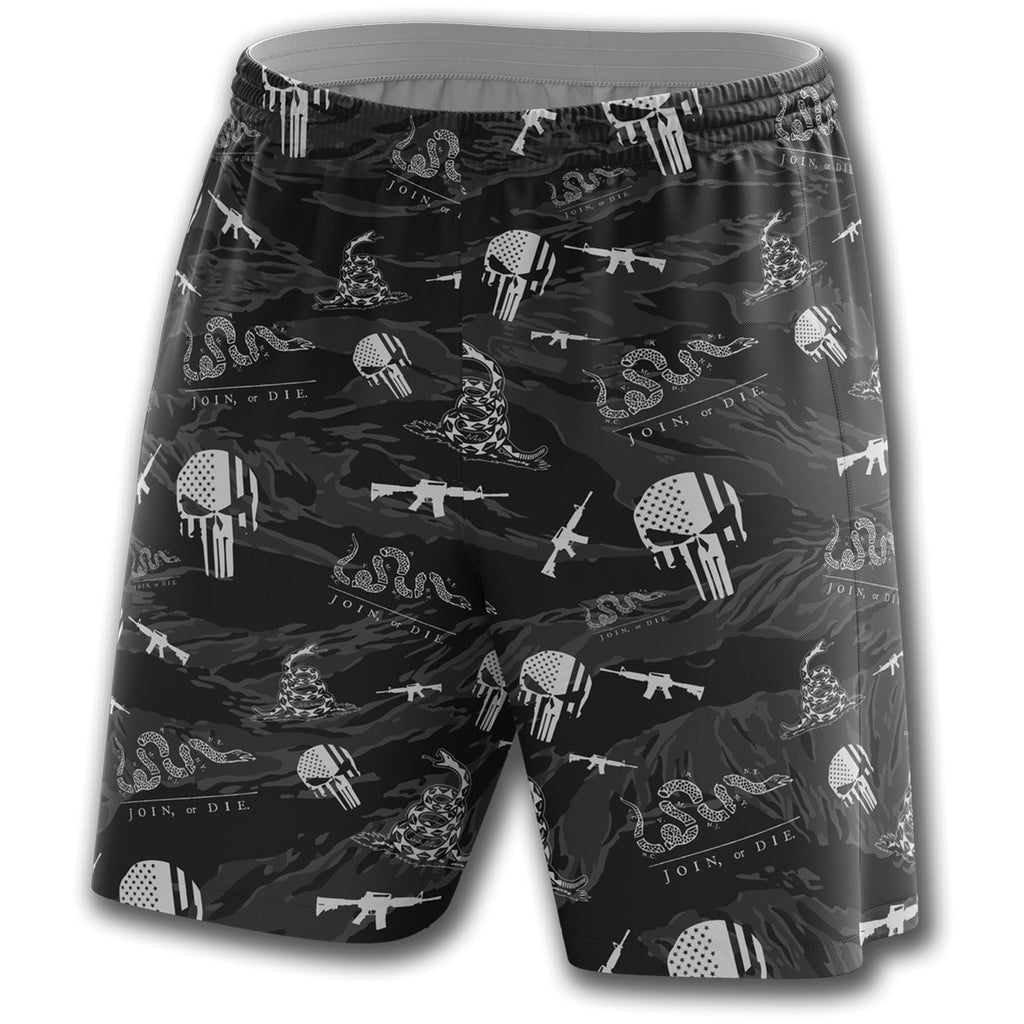Don't Tread On Me Athletic Shorts - Greater Half
