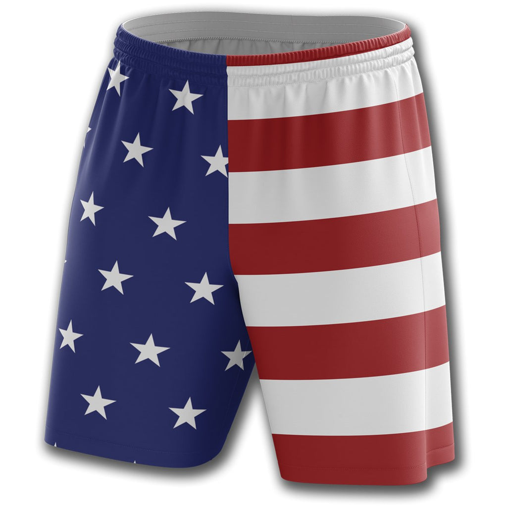 USA Flag Athletic Shorts - Greater Half