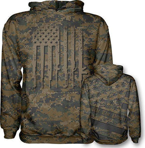 Woodland Digi We The People Hoodie - Greater Half
