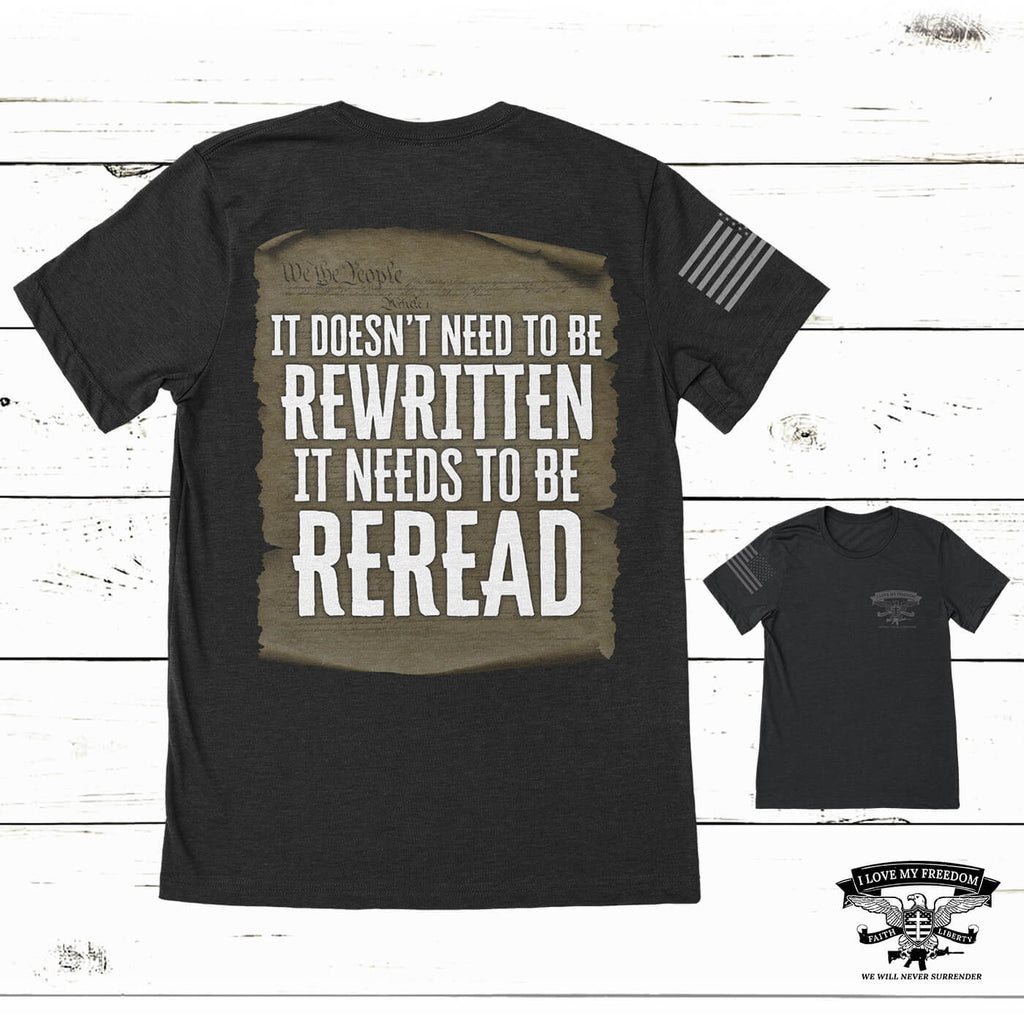 Re-Read The Constitution T-Shirt