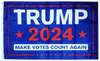 Trump 2024 Make Votes Count Again Flag