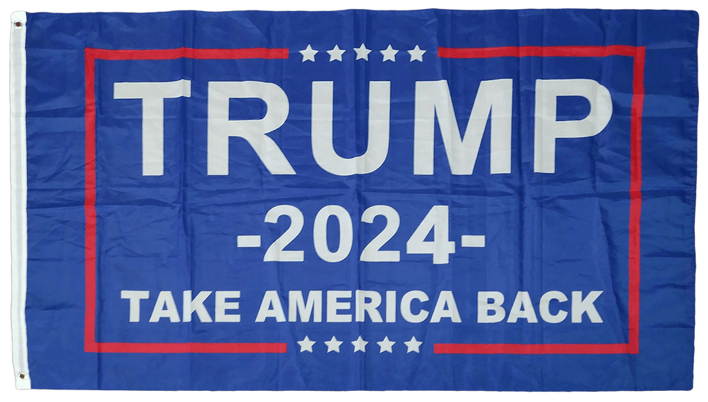 Trump 2024 Take America Back Flag
