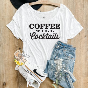 Coffee til Cocktails - Slouchy Graphic Tee