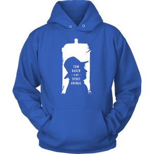 Tom Baker Spirit Animal Hoodie