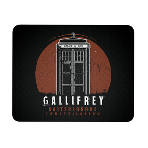 Gallifrey Kasterborbous (Dark) Mousepad