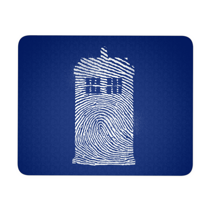 Fingerprint Phone Box Mousepad