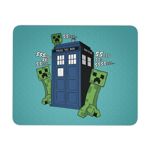 Creepers Have The Phone Box Mousepad