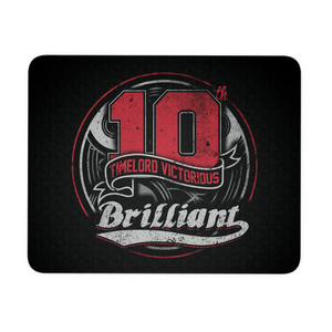 10th Tribute (Red) Mousepad