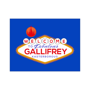 Welcome To Gallifrey Poster