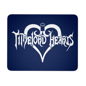 Timelord Hearts Mousepad