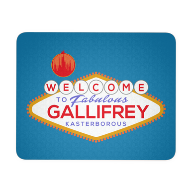 Welcome To Gallifrey Mousepad
