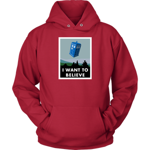 I Want To Believe Hoodie