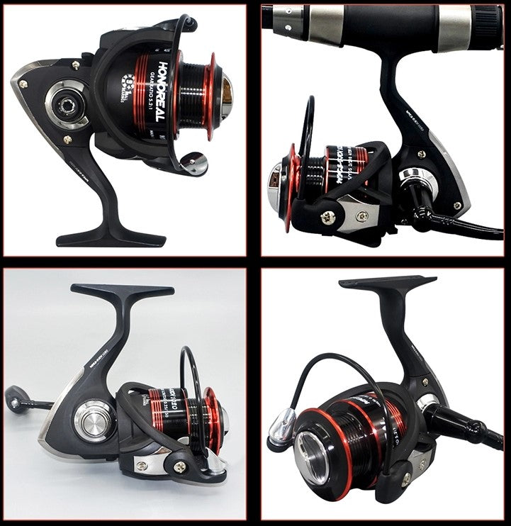 Well Presented 3000 series spinning reel, featuring a specially designed balanced rotor with thick bail arm. Catch yourself a wide variety of species with fabulous spinning reel at an affordable price.