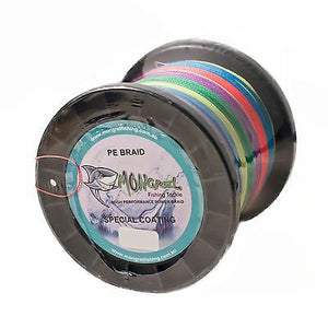 New Braid Fishing Line 30LB 8 Strand Mongrel Extreme 1000M Multi RRP $120.00 - Mongrel Braid