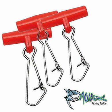 NEW 50 x Fishing Easy Rigs, Fishing Tackle Hooks, Sinker Clip, ezy rig - Ezy Rigs
