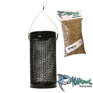 NEW MEDIUM BERLEY CAGE CORROSION RESISTANT FISHING BURLEY SPECIAL + FREEBIE - Burley Cage Medium