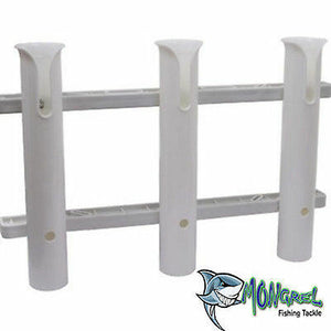 NEW ROD HOLDER 3 ROD COAMING RACK FOR FISHING ROD STORAGE