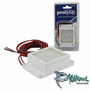 New PROLYTE TOUCH SWITCH 12V VOLT LED FRIDGE TOOL BOX LID LIGHT LAMP WHITE - TOUCH SWITCH 12V