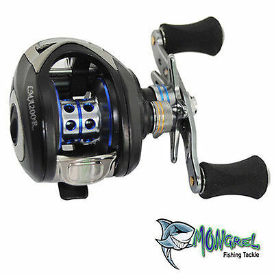 New Left Hand  BAIT CASTER FISHING REEL BAIT CASTING REEL  Kayak Fishing Shore