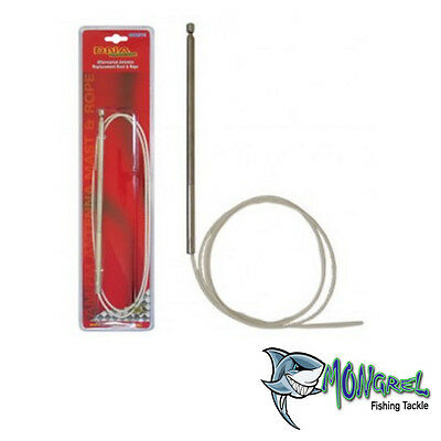 NEW FORD FALCON FAIRLANE AERIAL MAST & ROPE EA EB ED EF EL AU ELECTRIC ANTENNA