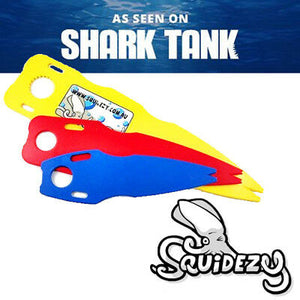 2 SETS of Squidezy Squid Cleaning Tool Squid ezy Fishing tool SPECIAL OFFER  x2 - Squidezy