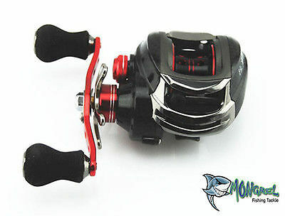 NEW LEFT HAND FISHING REEL BAIT CASTING REEL IDEAL FOR KAYAK FISHING BAIT CASTER