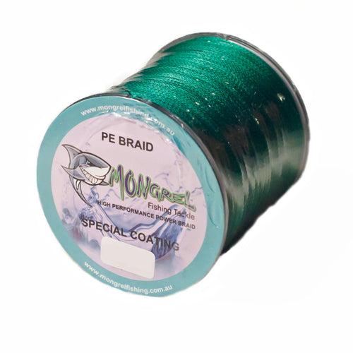 New Braid Fishing Line 500M Mongrel Fishing Tackle Braid Green