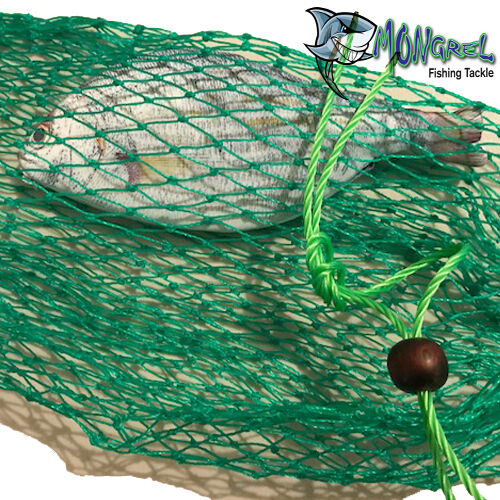 New KEEPER BAG GREAT TO KEEP YOUR FISH FRESH Fish Bag Scaler Berley Bag Net - Mongrel Fishing