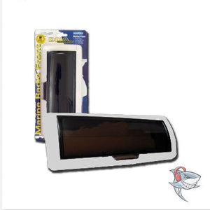 NEW MARINE WATERPROOF HEAD UNIT CASE COVER FRONT BOAT STEREO WHITE - HEAD UNIT CASE COVER