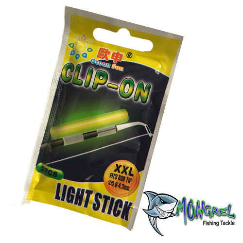 New 20 Glow Sticks Extra Ex Large XXL 10 Packs 20 Pieces Fishing Tackle Light