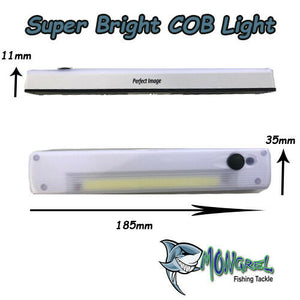 New COB 200 Ultra Bright Light Fishing Camping Home Office