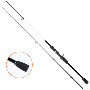 The River Side baitcaster rod offers anglers a high degree of casting accuracy, essential when working lures in and around snag infested areas.