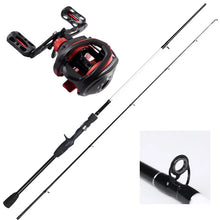 Load image into Gallery viewer, Bait Caster Combo 1.68 Meter - Rod and reel - Rod and Reel spooled with Braid