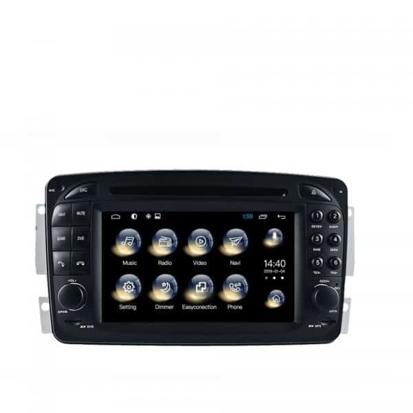 SatNav for MERCEDES BENZ Vaneo 2002-2005 | 6.2