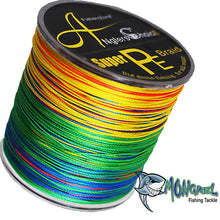Load image into Gallery viewer, Anglers Choice Braid Fishing Line 500M Mongrel Fishing Tackle Braid Multi