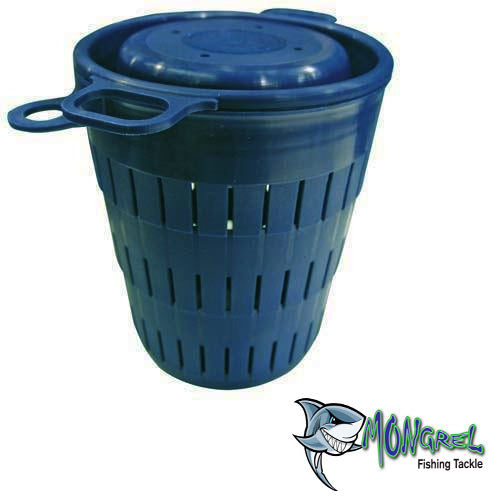 The Burley bucket is an ideal way of ensuring a constant burley trail, and that the burley is distributed sparingly.