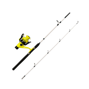 Spinning Rod and Reel Combo Rear Drag - Rod and Reel With Mongrel Braid