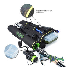 Load image into Gallery viewer, New Fishing Tackle Holster Bag Waste Hip Leg Bag Tackle Box Land Based Fishing