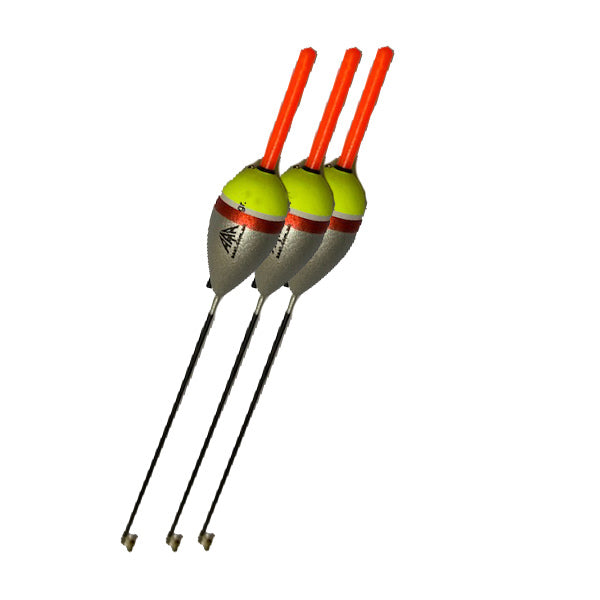 Fishing Float 3 Pack - 8 Gram - 10 Gram - 12 Gram - 15 Gram