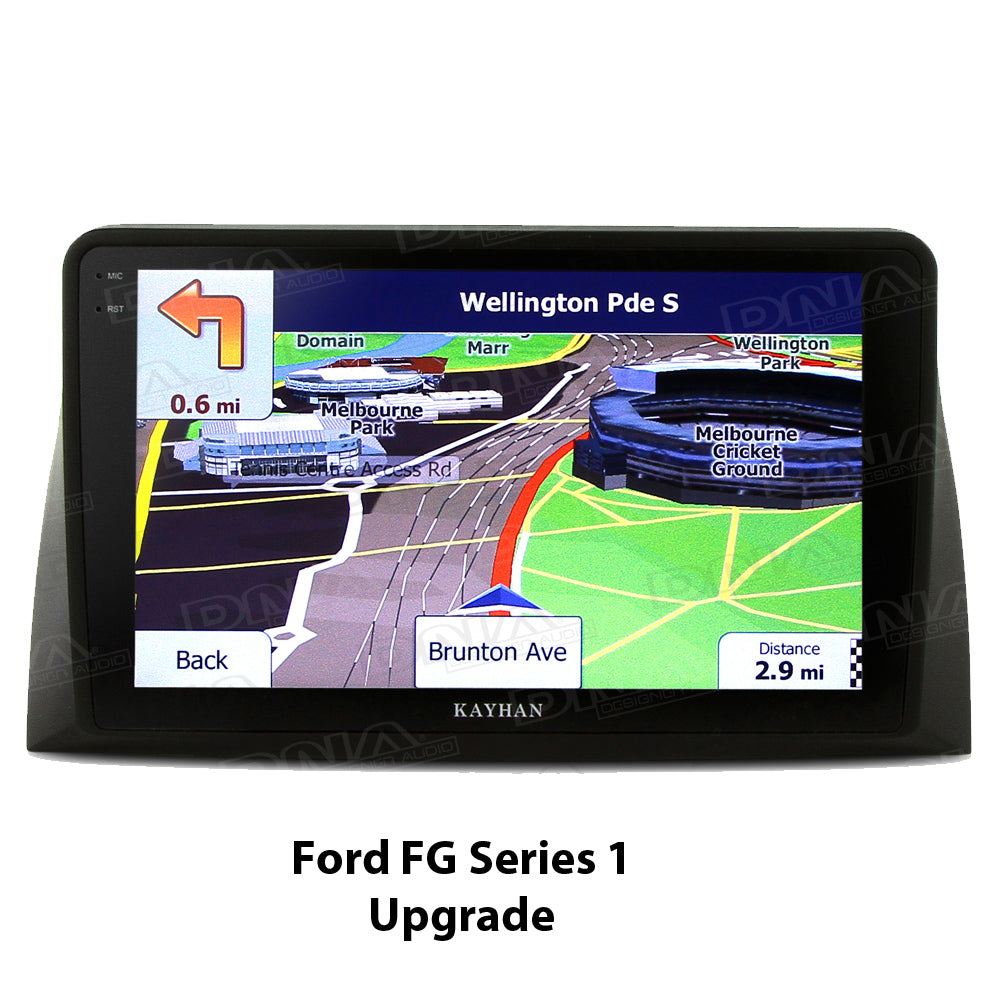 Kayhan 9.6 Inch Screen & DVD Head Unit To Suit Ford Falcon FG Series 1
