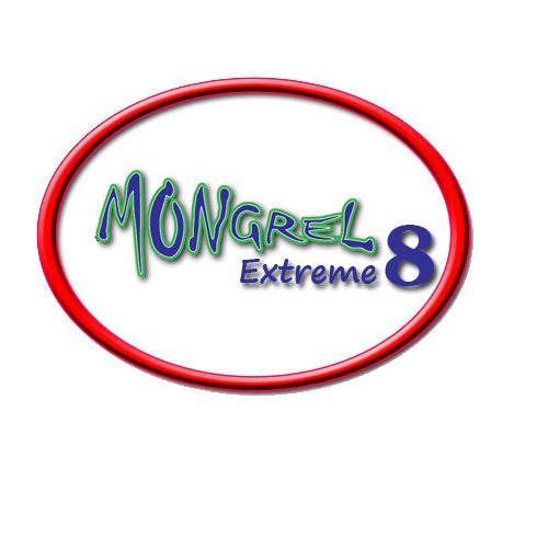 New Braid Fishing Line  8 Strand Mongrel Extreme 500M Multi - 10 LB - 20 LB - 30 LB - 40 LB - 55 LB - 70 LB - 85 LB - 108 LB